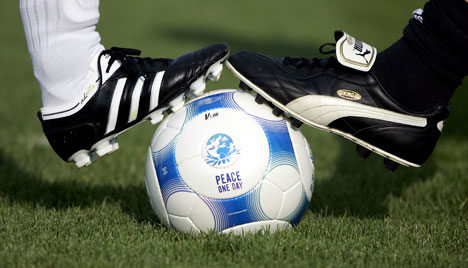 Adidas and Puma end 60-year family feud with football match
