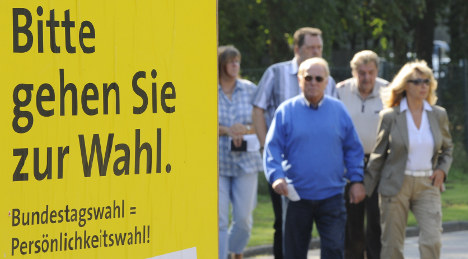 Turnout low as German voters head to the polls