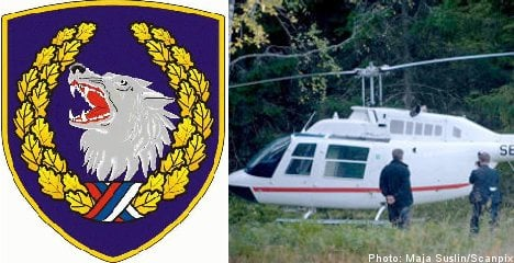 Police probe Serb ties to helicopter heist