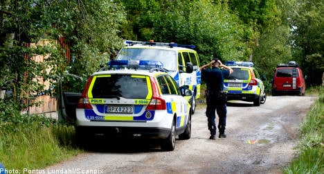 Suspected double murder near Stockholm