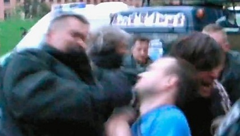 Berlin officers probed after police brutality video posted online