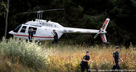 Several arrests made in helicopter heist probe