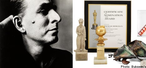Swedish auction house to sell Ingmar Bergman's possessions