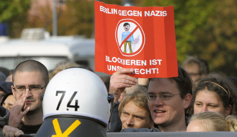 Police brutality claims follow anti-Nazi protest
