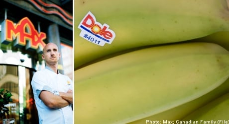 Swedish burger chain ditches Dole over Bananas!* lawsuit