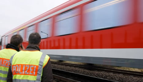 Train surfing youths cause railway chaos