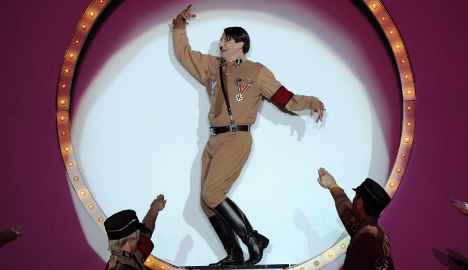 Thai waxworks cuts saluting Hitler poster after protests