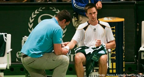 Injury forces Söderling out of Stockholm Open