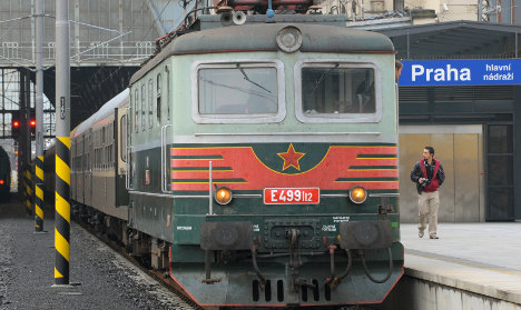 Train retraces East German route to freedom