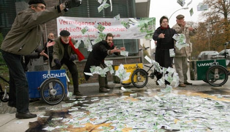 Wealthy Germans launch petition for higher taxes