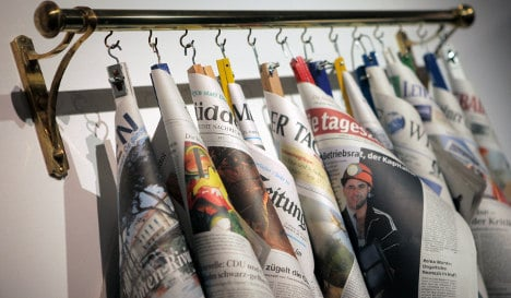 Young Germans launch Europe's first 'personalised' newspaper