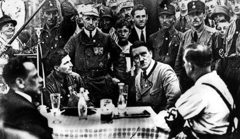 France finds lost spy file on young Hitler