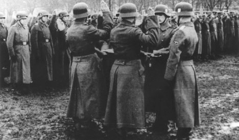 90-year-old charged for Nazi massacre