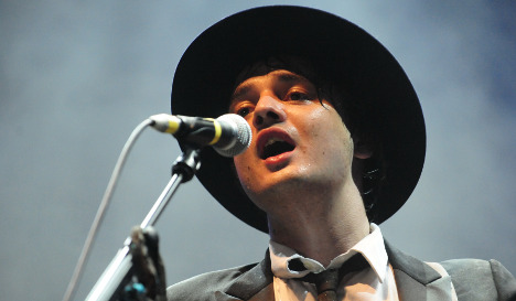 Peter Doherty angers Germans by mixing up national anthem