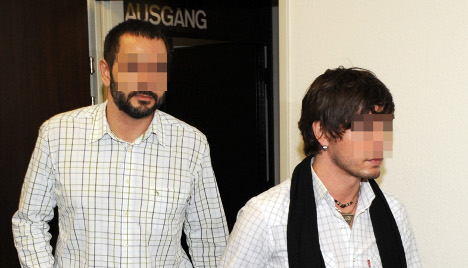 German spy on trial for passing secrets to gay lover
