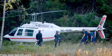 Two more held as police look for second pilot