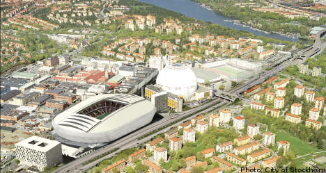 New Stockholm arena gets financial go-ahead