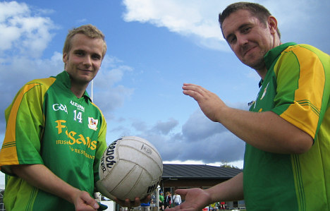 Gaelic invasion: It's football, Sven, but not as we know it