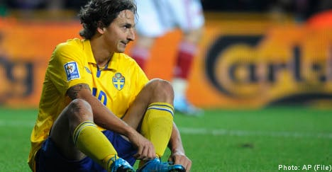 Zlatan considers quitting Sweden's national side