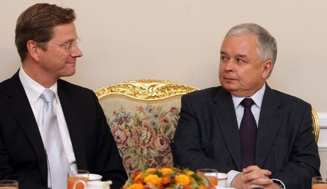 Westerwelle kicks off Foreign Minister job in Poland