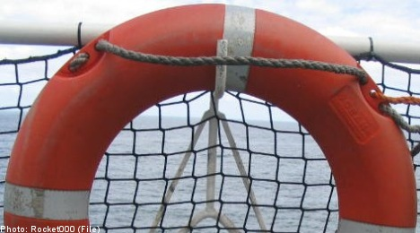 Swedish ferries equipped with 'sinking' life rings