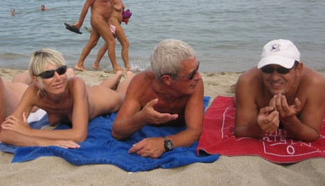 Former East German nudists still letting it all hang out