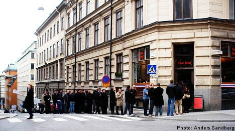 Sweden and the art of standing in line