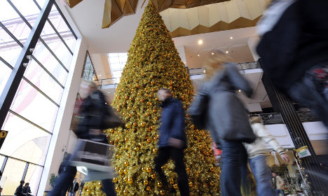 Retiree crushed beneath store Christmas tree while shopping