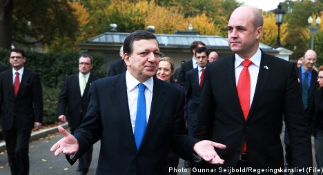 Reinfeldt pushes for consensus on EU leader