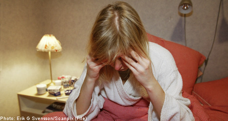 Five percent of Swedes on sickness benefits