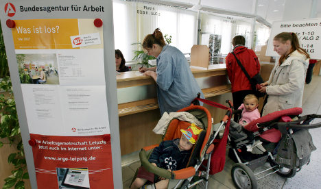 One in ten Germans on the dole
