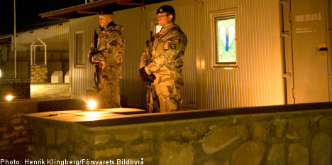 Swedish soldiers 'unstable' after Afghanistan explosion