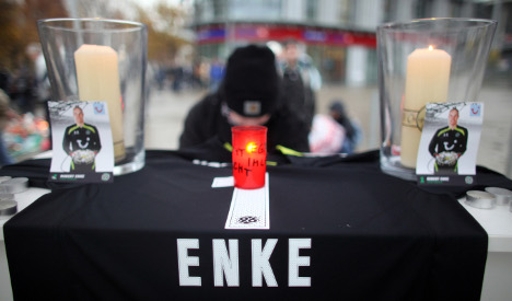 Enke hid depression for years before suicide