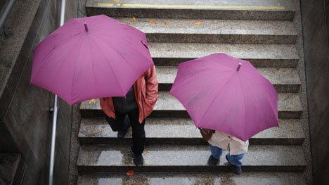 Wet and windy weather will warm up weekend