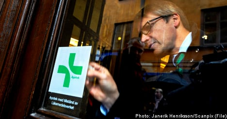 Sweden completes pharmacy sell-off