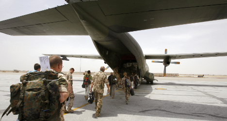 SPD rules out support for Afghan combat troop increase