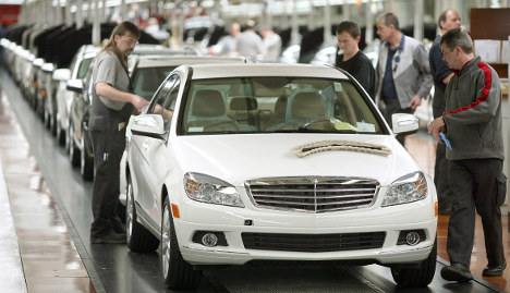 Mercedes-Benz moves C-Class production to Alabama