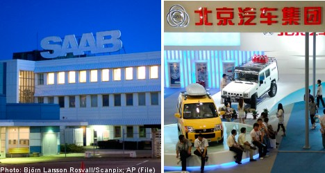 China's BAIC in deal to buy parts of Saab: report