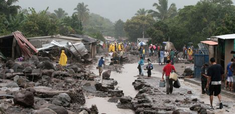 Disaster damage down in 2009