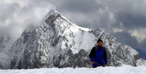 Two men missing on the Zugspitze
