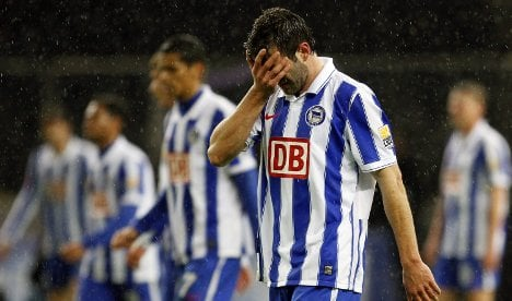 Hertha boss admits club in worst crisis of the decade