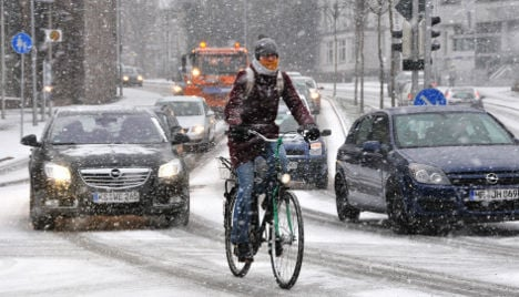 Ice and snow cause traffic chaos