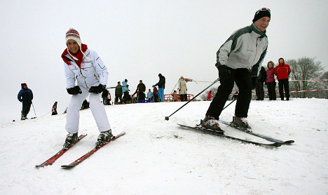 Snow bounty boosts Germany's most northern ski slope