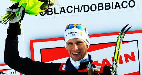 First World Cup stage win for Swede Daniel Rickardsson