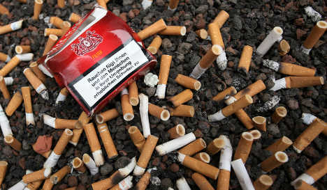 Germans cut back on smoking, but spend more as prices increase