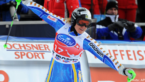 Pärson scores timely World Cup victory
