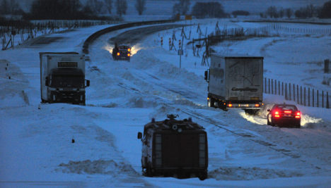 Northern Germany battles winter chaos