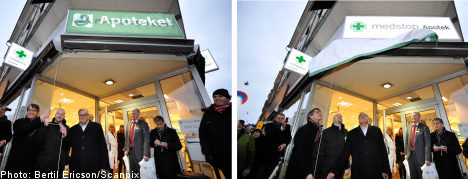 Private pharmacies return to Sweden