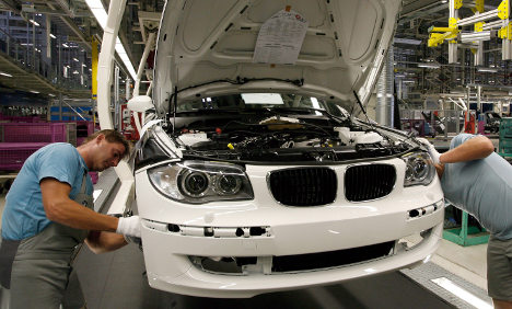 BMW sales slid by almost five percent in 2009
