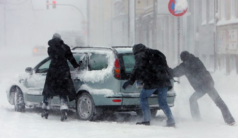 Snow causes chaos in the north